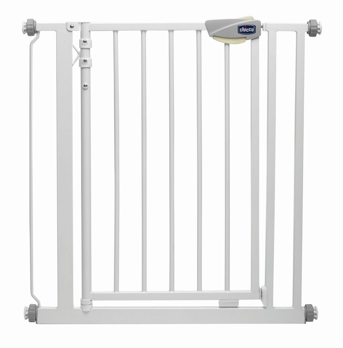 Дверное ограждение Chicco Nightlight Autoclose safety gate 76-81 см, цвет White