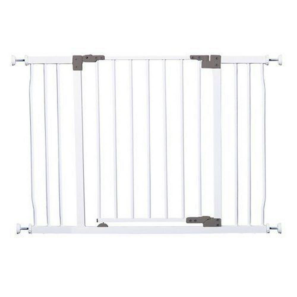 Дверное ограждение Dreambaby Liberty Xtra Hallway Security Gate 76*99-108 , цвет Белый