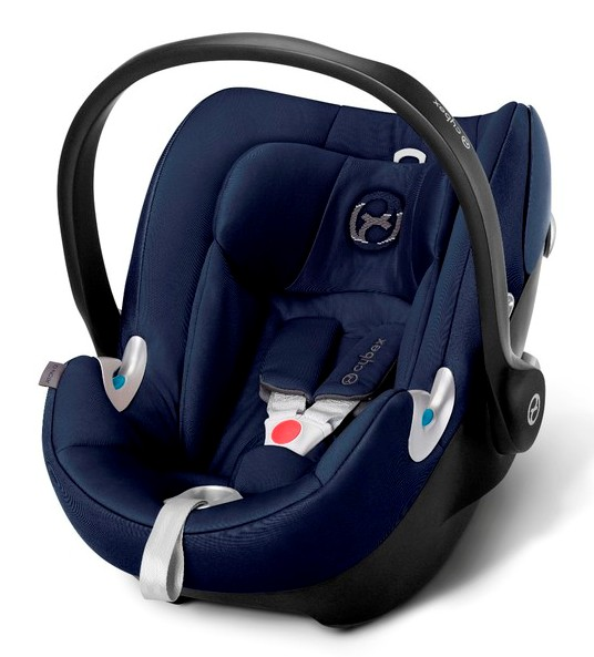 Автокресло Cybex Aton Q Platinum, цвет Midnight Blue