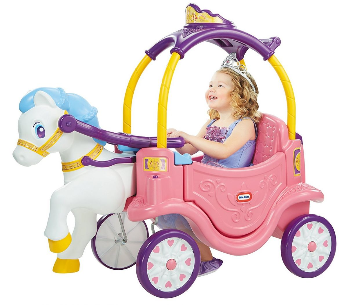 Каталка-карета Little Tikes Princess Horse & Carriage