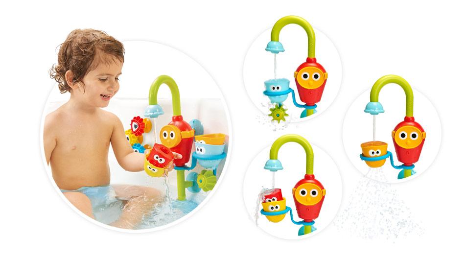 Волшебный кран yookidoo игрушка для ванной
