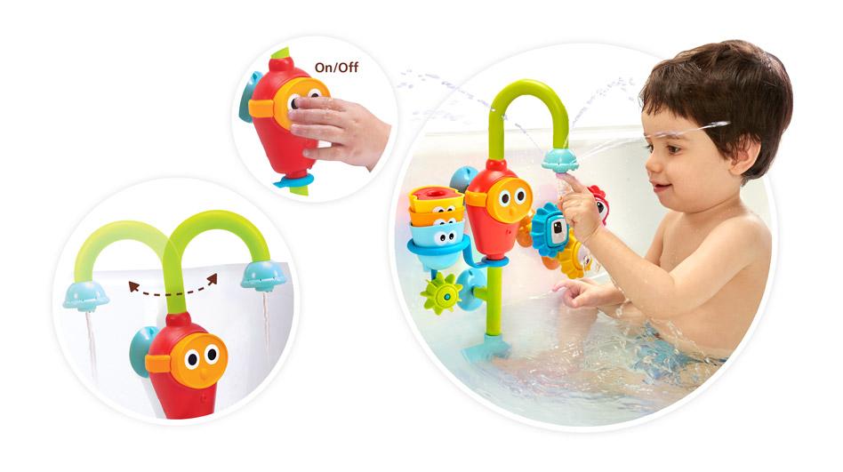 Игрушки для ванной yookidoo