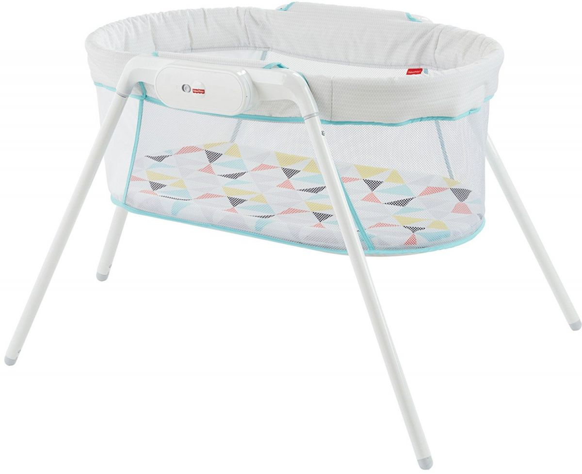 Кроватка Fisher Price Stow 'n Go Bassinet, цвет White