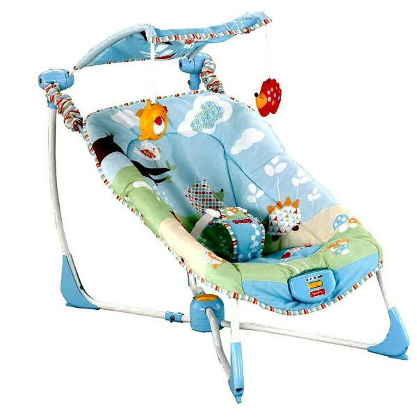 Массажное кресло-колыбель Fisher Price W9454