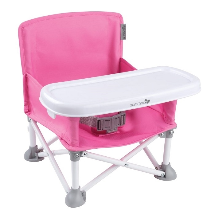Кресло Summer Infant Portable Booster, цвет Pink