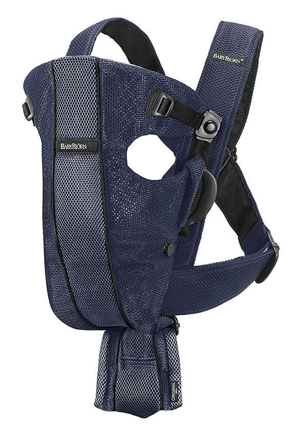 Рюкзак-кенгуру BabyBjorn Original Air, цвет Dark Blue Mesh