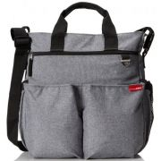 Сумка для мамы Skip hop Duo signature, цвет Heather Grey