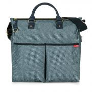 Сумка для мамы Skip hop Duo Luxe Blue Pinpoint