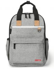 Рюкзак Skip hop Duo signature, цвет Grey Melange