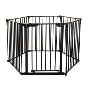 Защитное ограждение Dreambaby Royale Converta 3 in 1 Play-Pane Gate, цвет Black