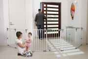 Ограждение-манеж 3 в 1 Dreambaby Royale Converta Play-Pane Gate, цвет белый F849