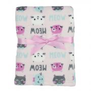 Плед Baby Gear Plush, цвет Cats