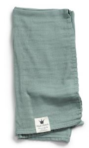 Плед бамбуковый Elodie Details bamboo muslin, цвет Mineral Green