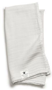 Плед бамбуковый Elodie Details bamboo muslin, цвет Vanilla White