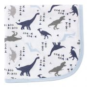 Плед Touched by Nature Organic Cotton, цвет Dino