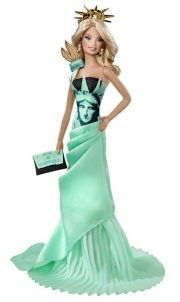 Кукла Barbie World Statue of Liberty T3772