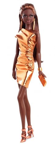 Кукла Barbie Look Bronze Dress CFP40