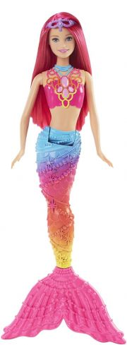 Кукла Barbie Русалочка Rainbow Fashion DHM47