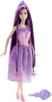 Кукла Barbie Princess, цвет Purple
