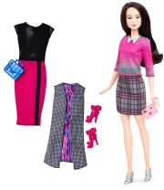 Кукла Barbie Fashionista, цвет Asian