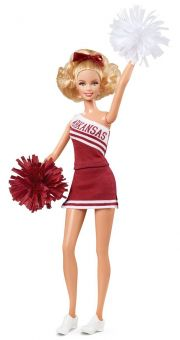 Кукла Barbie University of Arkansas