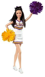 Кукла Barbie University of Louisiana