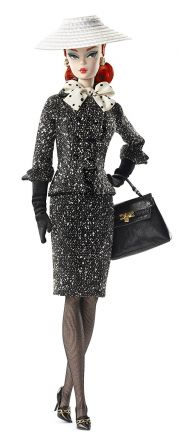 Кукла Barbie Black&White Tweed