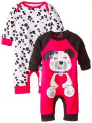 Комбинезон Gerber Long-Sleeve (2 шт), цвет Dalmatian