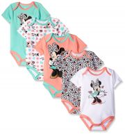 Боди Disney Minnie Mouse (5 шт), цвет Multi/Pink