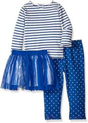 Комплект Isaac Mizrahi (3 шт), цвет Gold/Blue Stripes