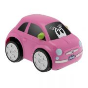 Машинка Chicco Fiat 500 Тurbo Touch, цвет Pink