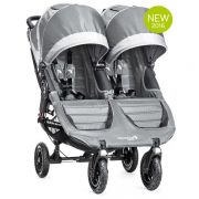 Коляска для двойни и погодок Baby Jogger City Mini Double GT, цвет Steel gray