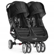 Коляска для двойни и погодок Baby Jogger City Mini Double, цвет Black/Gray
