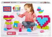 Конструктор Mega Bloks First Builders Imagination Building Pink