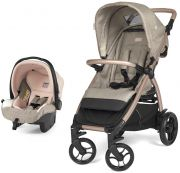 Коляска Peg Perego Booklet 50 Travel System, цвет Mon Amour