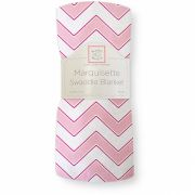 Пеленка SwaddleDesigns Marquisette Chevron, цвет Pink