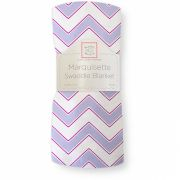 Пеленка SwaddleDesigns Marquisette Chevron, цвет Lavender