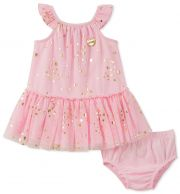 Платье Juicy Couture, цвет Pink/Gold