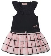 Платье Juicy Couture, цвет Black/Pink