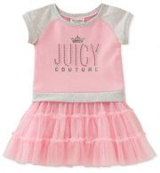 Платье Juicy Couture, цвет Pink/Gray