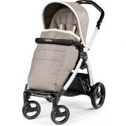 Прогулочная коляска Peg Perego Book Plus 51 Pop Up Completo, цвет White/Versilia
