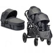 Коляска для двойни Baby Jogger City Select Tandem, цвет Black denim