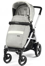 Прогулочная коляска Peg-Perego Book 51 S Pop Up, цвет Luxe Pure/White