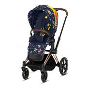 Прогулочная коляска Cybex Priam 2.0 Fashion Edition, цвет Space Rocket/ Rosegold