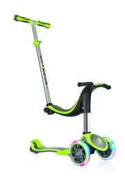 Самокат Globber Evo Plus Light 4в1, цвет Lime Green