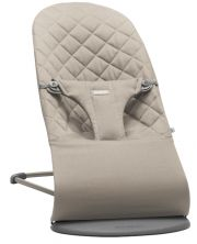 Шезлонг BabyBjorn Balance Bliss Cotton, цвет Sand Grey