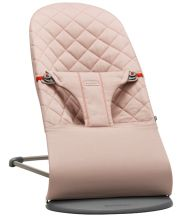 Шезлонг BabyBjorn Balance Bliss Cotton, цвет Old Rose