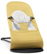 Шезлонг BabyBjorn Balance Soft Cotton/Jersey, цвет Yellow/Grey