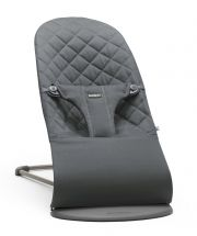 Шезлонг BabyBjorn Balance Bliss Cotton, цвет Anthracite