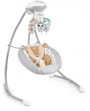 Кресло-качалка Fisher-Price Cradle 'n Swing Fawn Meadows